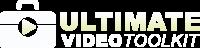 Ultimate Video Toolkit Pro Logo Dark 3