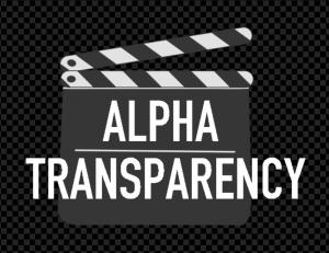 alpha-transparency